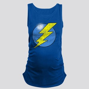 Vintage Sheldon Lightning Bolt 2b Maternity Tank T