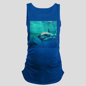 GREAT WHITE SHARK 1 Maternity Tank Top