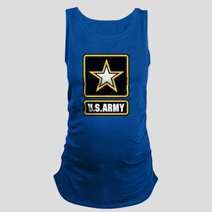 U.S. Army Gold Star Logo Maternity Tank Top