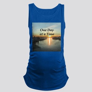 ONE DAY AT A TIME Maternity Tank Top