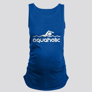 Aquaholic Maternity Tank Top
