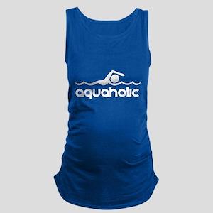 Aquaholic Maternity Tank Top