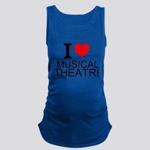 I Love Musical Theatre Maternity Tank Top