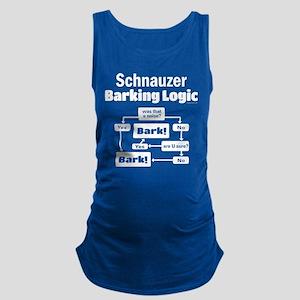 Schnauzer logic Maternity Tank Top