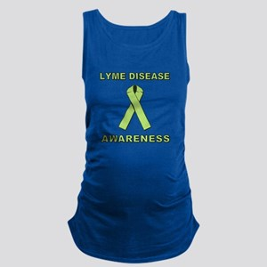 LYME DISEASE AWARENESS Maternity Tank Top