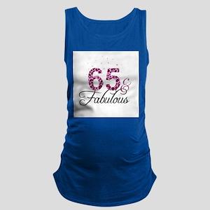 65 and Fabulous Maternity Tank Top