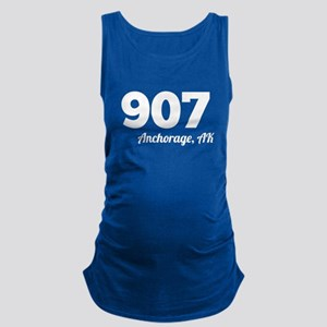 Area Code 907 Anchorage AK Maternity Tank Top