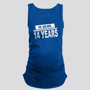 Mr. And Mrs. 14 Years Maternity Tank Top