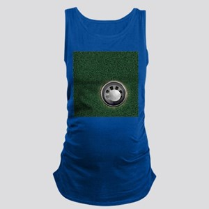 Golf Cup and Ball Maternity Tank Top