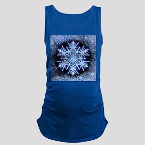 October Snowflake - square Tank Top