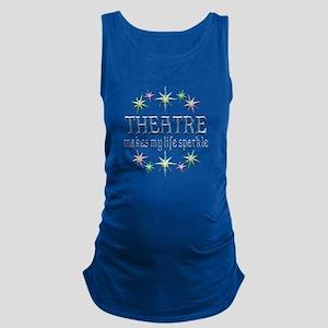 Theatre Sparkles Maternity Tank Top