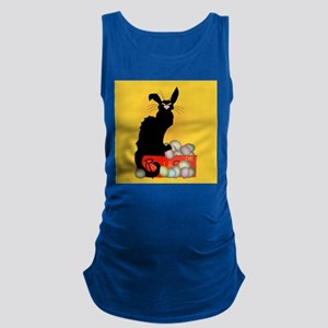 Happy Easter - Le Chat Noir Maternity Tank Top