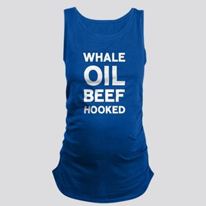 Whale Oil Beef Hooked Maternity Tank Top
