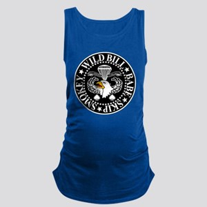 Band of Brothers Crest Maternity Tank Top