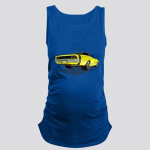 1968 Charger in Yellow with Black Top Tank Top
