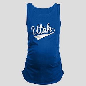 Utah, Retro, Maternity Tank Top