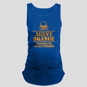 Agent Orange Maternity Tank Top