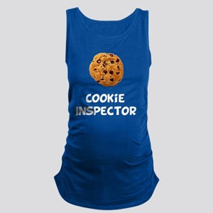 Cookie Inspector White SOT Maternity Tank Top