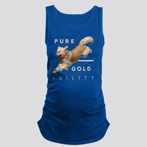 2-GoldenAgilityMerge2 Maternity Tank Top