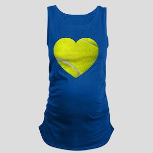 Tennis Heart Maternity Tank Top