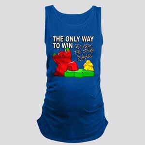 The Only Way to Win Maternity Tank Top