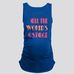 All The Worlds a Stage Tank Top