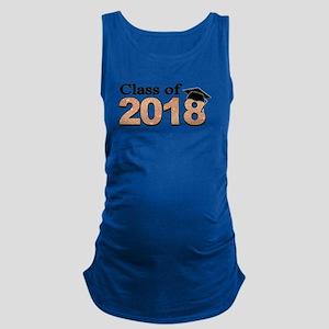 Class of 2018 Glitter Tank Top