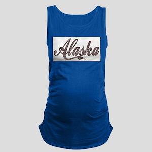 Vintage Alaska Maternity Tank Top