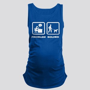 Airdale Terrier Maternity Tank Top