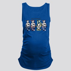 Dare to be Different Cows Maternity Tank Top