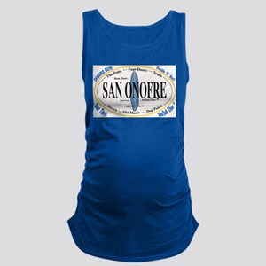 San Onofre Maternity Tank Top
