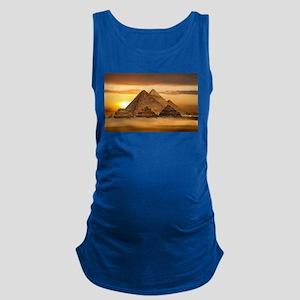 Egyptian pyramids Maternity Tank Top