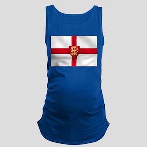 England 3 Lions Flag Maternity Tank Top