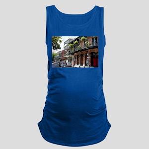 French Quarter Street Maternity Tank Top