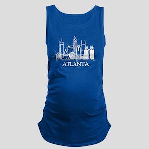 Atlanta City Skyline Tank Top