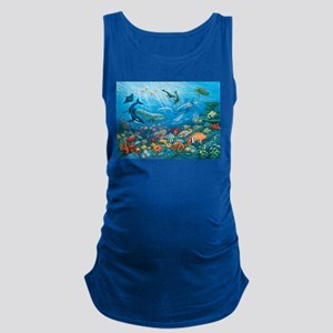 Oceanscape Maternity Tank Top