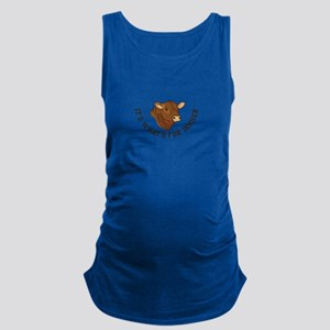 Its Whats For Dinner Maternity Tank Top