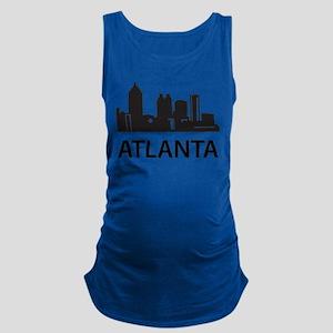 Atlanta Skyline Maternity Tank Top