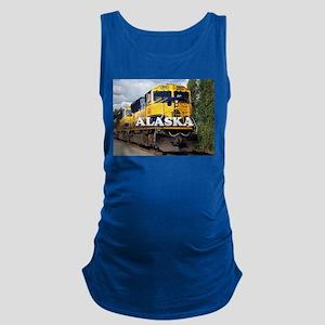 Alaska Railroad engine locomoti Maternity Tank Top