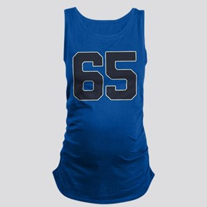 65 65th Birthday 65 Years Old Maternity Tank Top