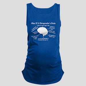 Chiropractor Humor Maternity Tank Top