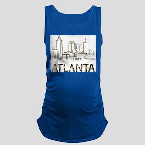 Vintage Atlanta Maternity Tank Top