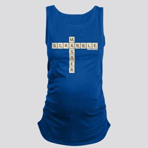 Scrabble Master Maternity Tank Top