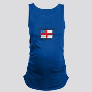 The Episcopal church welcomes you Maternity Tank T