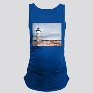 Edgartown Lighthouse Maternity Tank Top