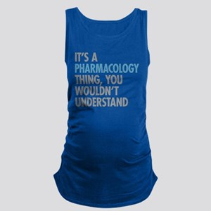 Pharmacology Thing Maternity Tank Top