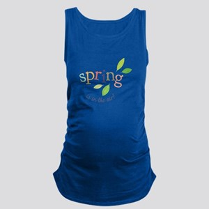 Spring In The Air Maternity Tank Top