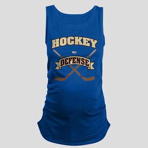Hockey Defense Maternity Tank Top