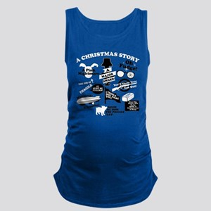 A Christmas Story Collage Maternity Tank Top