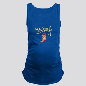 COWGIRL BOOT Maternity Tank Top